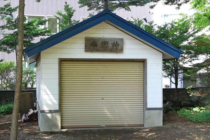 信濃神社 神楽庫