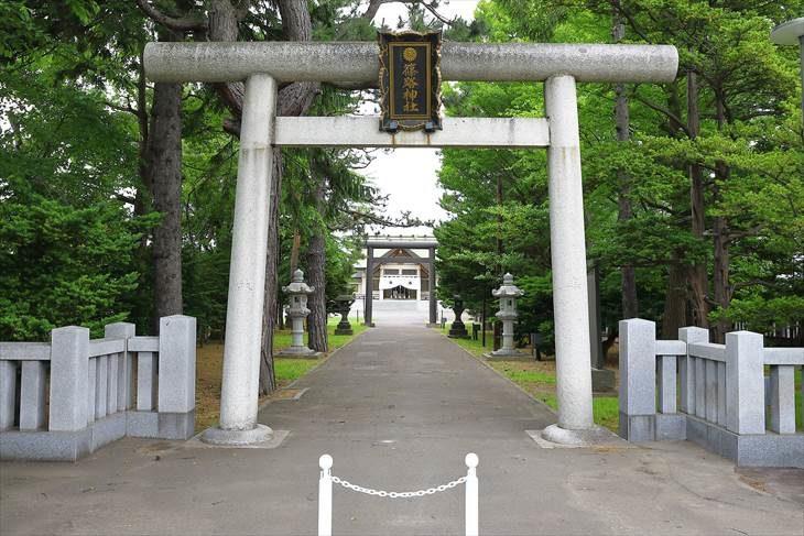 篠路神社 第一鳥居