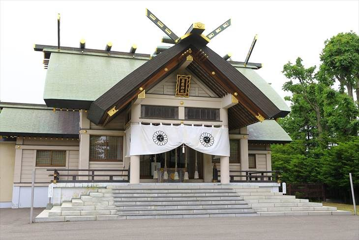 篠路神社 社殿
