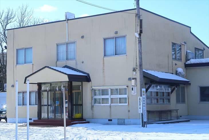 篠路神社 社務所 冬