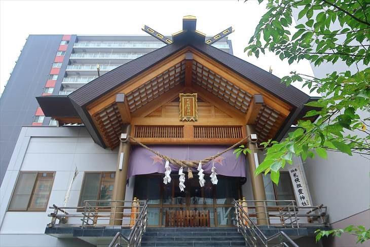 札幌祖霊神社 社殿