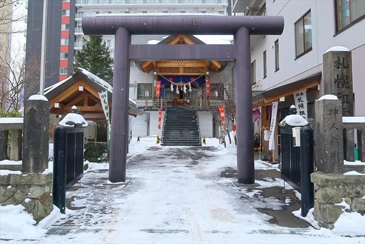札幌祖霊神社 鳥居
