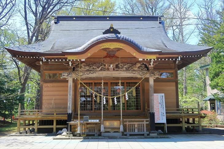 相馬神社 社殿
