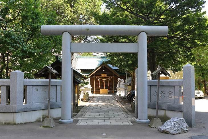 札幌水天宮 鳥居
