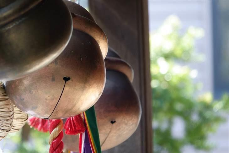 札幌水天宮の鈴