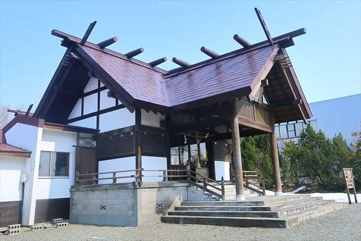 澄丘神社 社殿