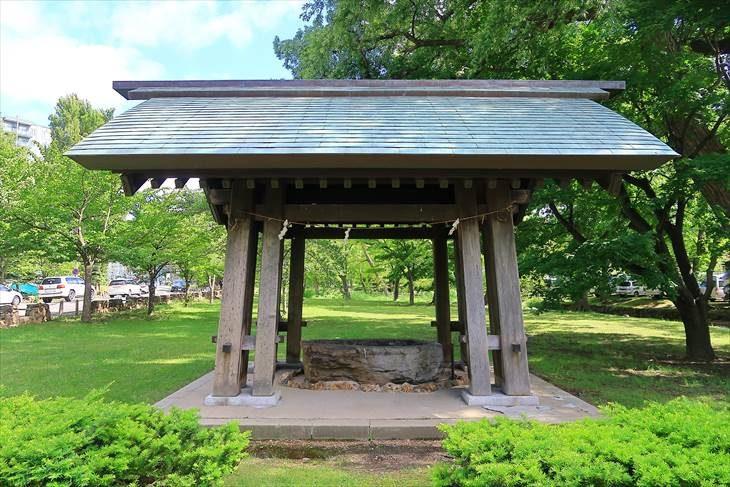 札幌護国神社 以前の手水舎