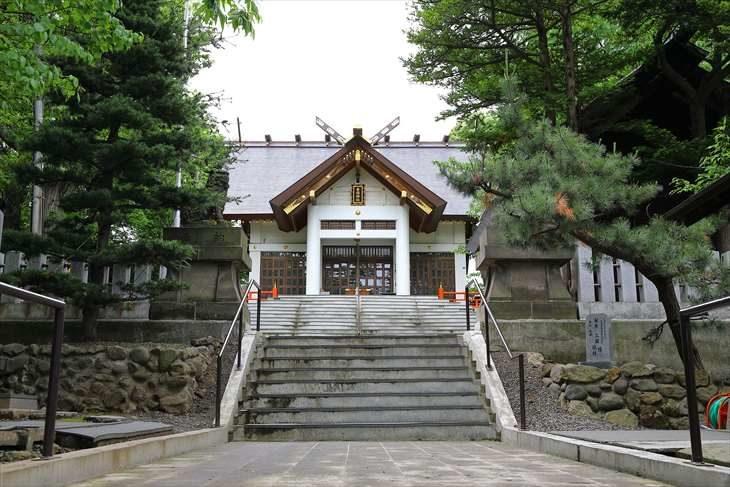 手稲神社 参道
