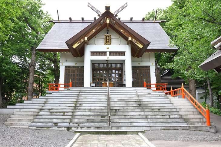 手稲神社 社殿