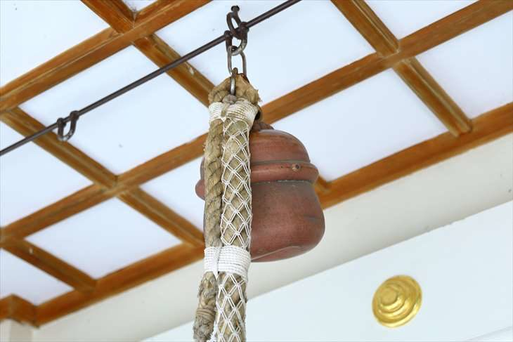 手稲神社の鈴