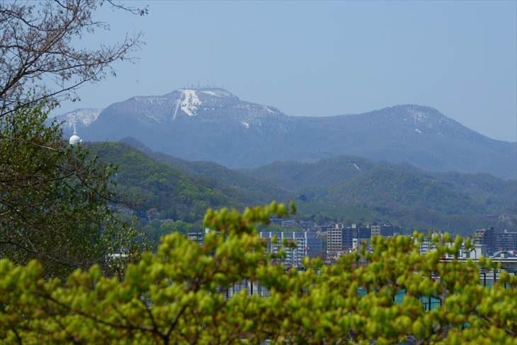 天神山緑地からの眺め