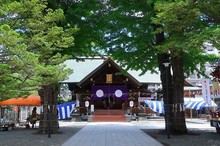 北海道神宮頓宮の札幌まつり