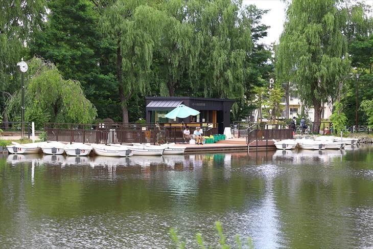 月寒公園の池