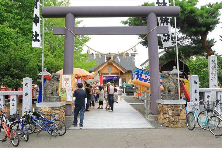 札幌村神社のお祭り