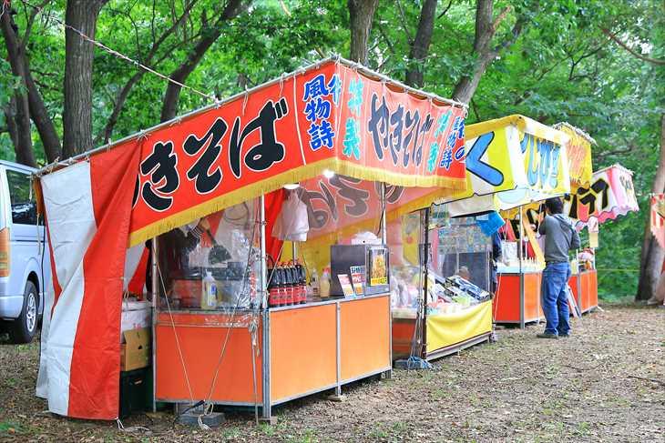 星置神社のお祭り・例大祭の様子