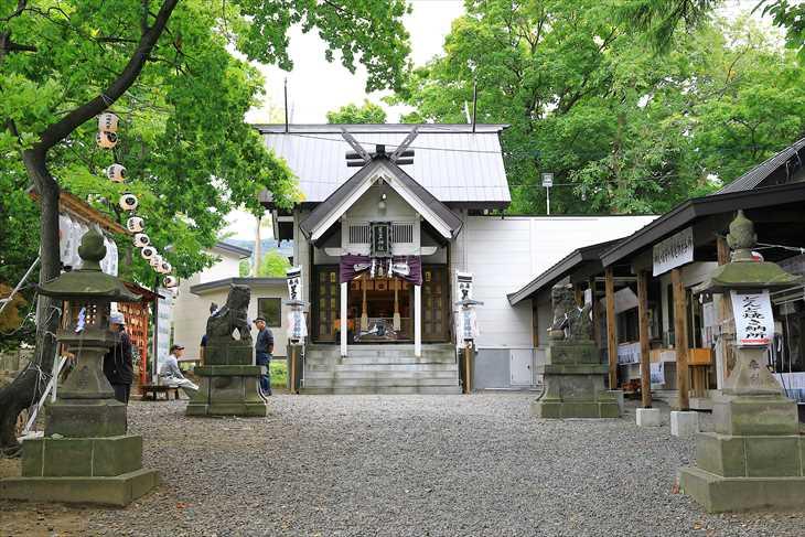 星置神社のお祭り