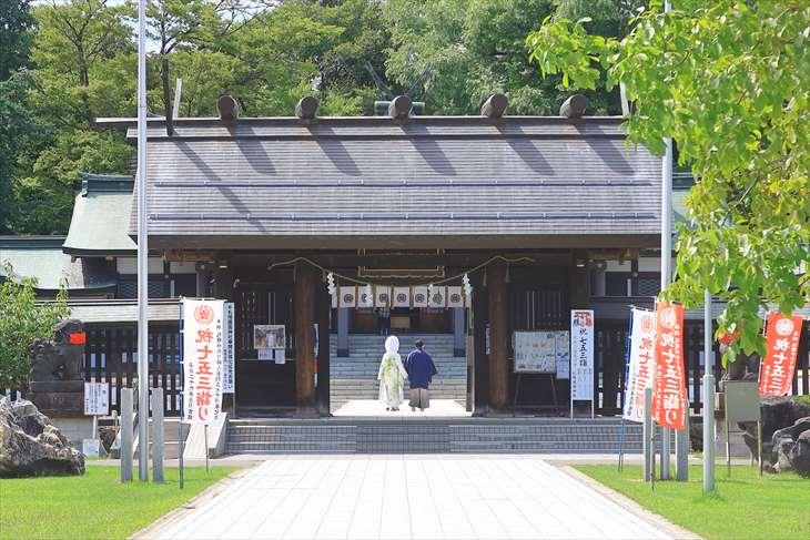 札幌護国神社での結婚式