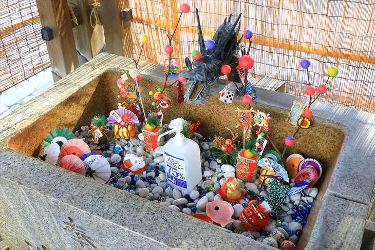 札幌諏訪神社の手水舎