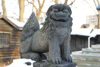 札幌諏訪神社の狛犬様