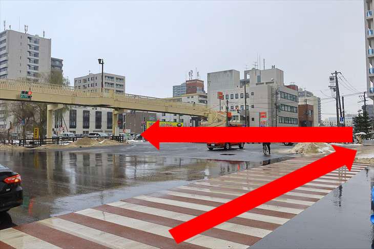 横断歩道図解