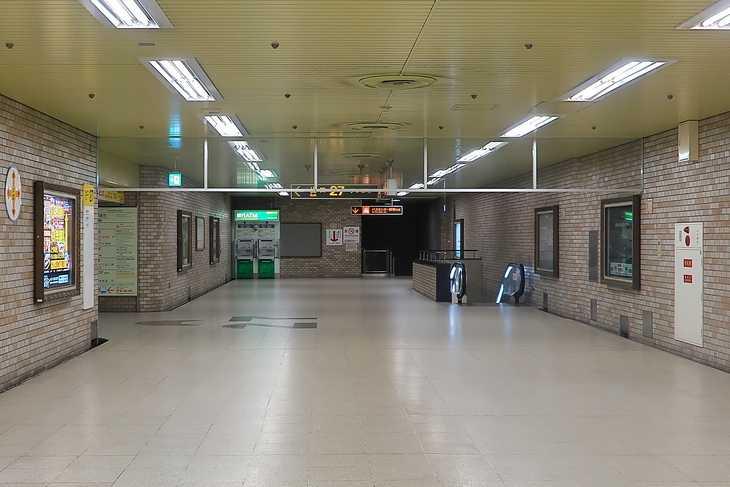 大通駅27番出口 地下