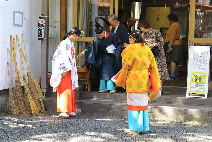 札幌伏見稲荷神社 お祭りの日