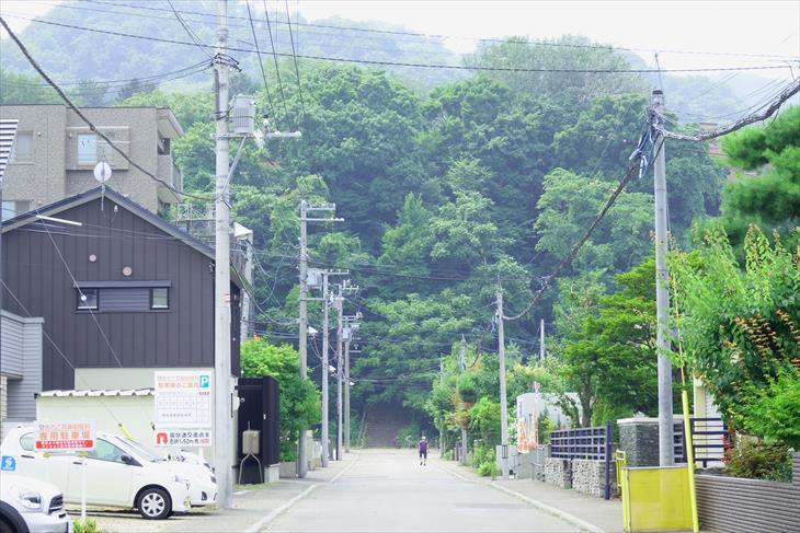 札幌伏見稲荷神社への参道