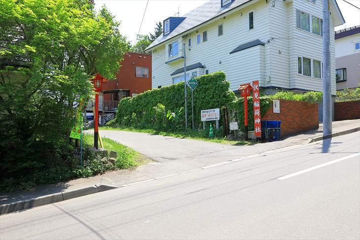 札幌伏見稲荷神社 駐車場