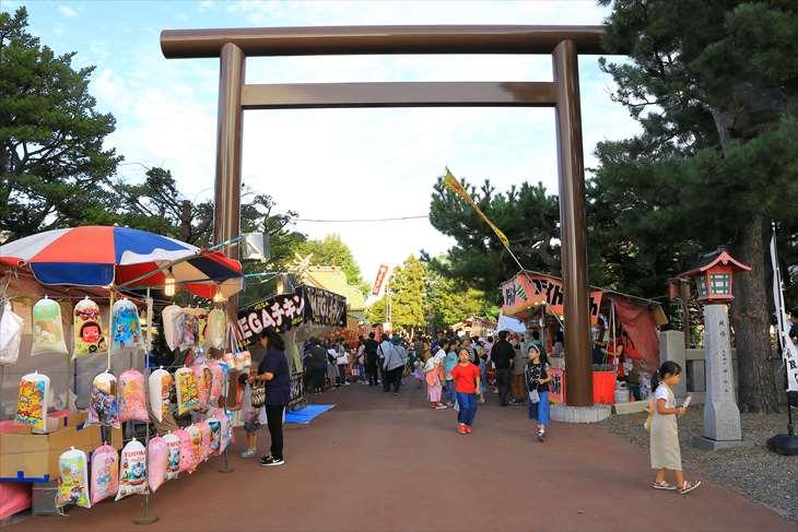 発寒神社のお祭り・例大祭(御祭禮)の様子【札幌市西区】
