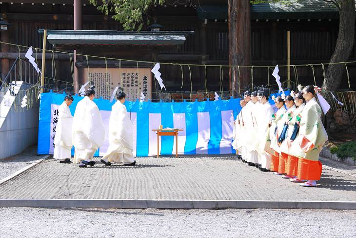 北海道神宮 令和の御大禮(即位の礼)