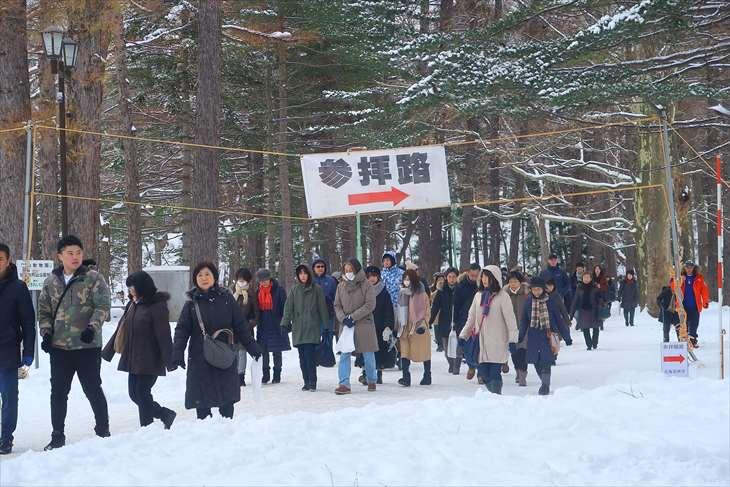 元旦の北海道神宮