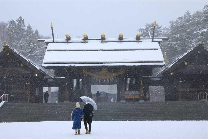 冬の北海道神宮