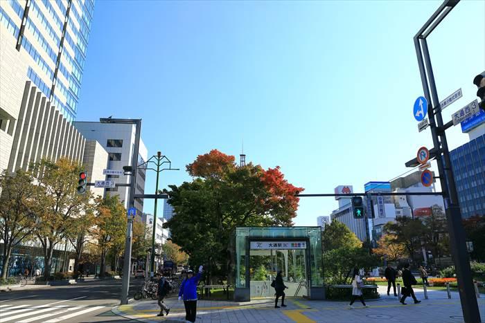 大通駅6番出口