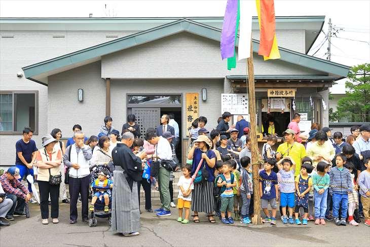 丘珠神社のお祭り