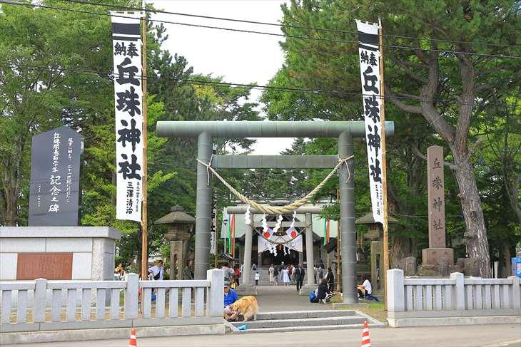 丘珠神社のお祭り・例大祭の様子と丘珠獅子舞【札幌市東区】