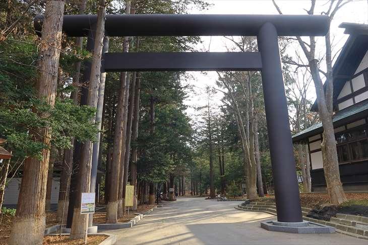 北海道神宮 令和の鳥居