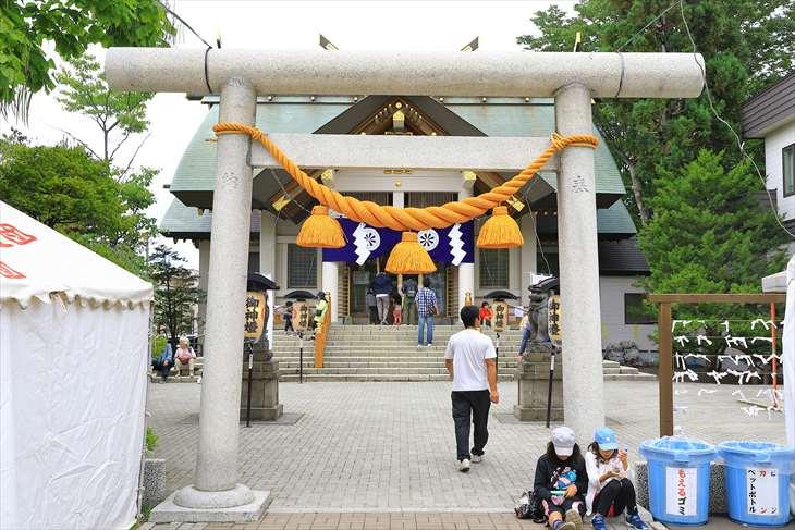 烈々布神社のお祭り