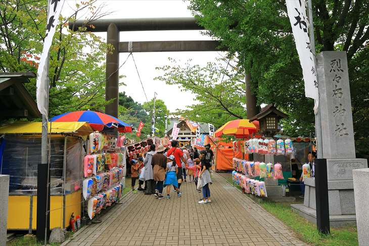 烈々布神社のお祭り・例大祭(御祭禮)の様子【札幌市東区】