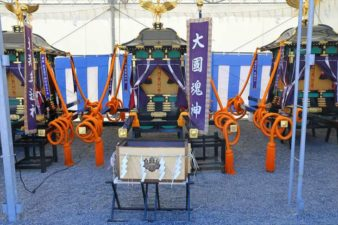 北海道神宮例祭の神輿 大國魂神