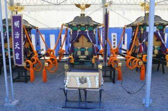 北海道神宮例祭の神輿 大穴牟遅神
