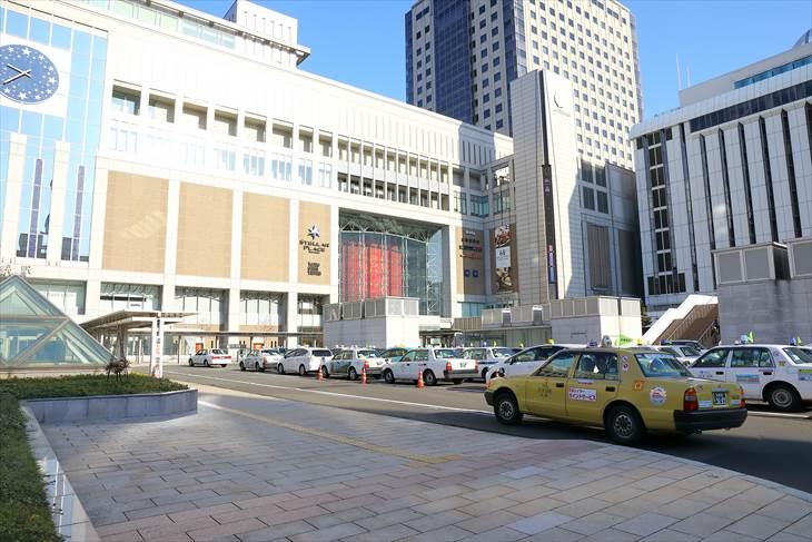 札幌駅のタクシープール