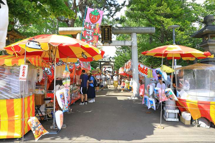 篠路神社のお祭り