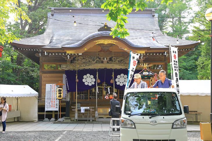 相馬神社のお祭り