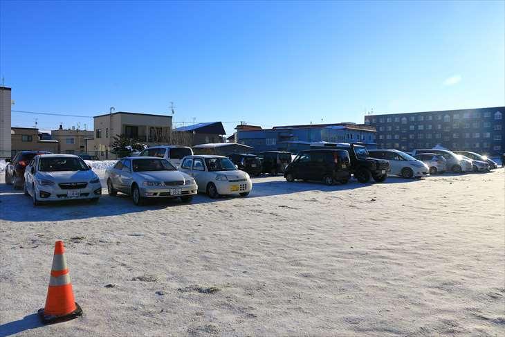 厚別神社 駐車場