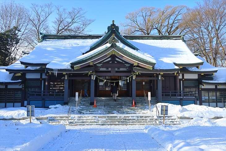 札幌護国神社 拝殿
