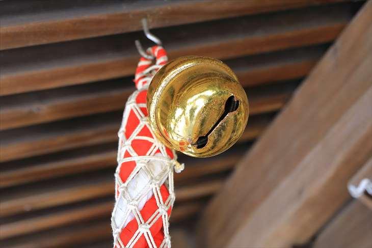 菊水神社の鈴