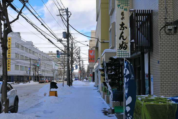 菊水神社への道
