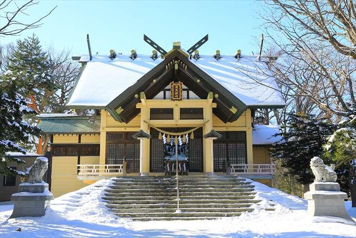 月寒神社 拝殿