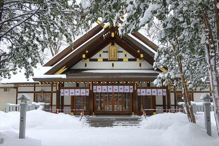 新琴似神社 拝殿